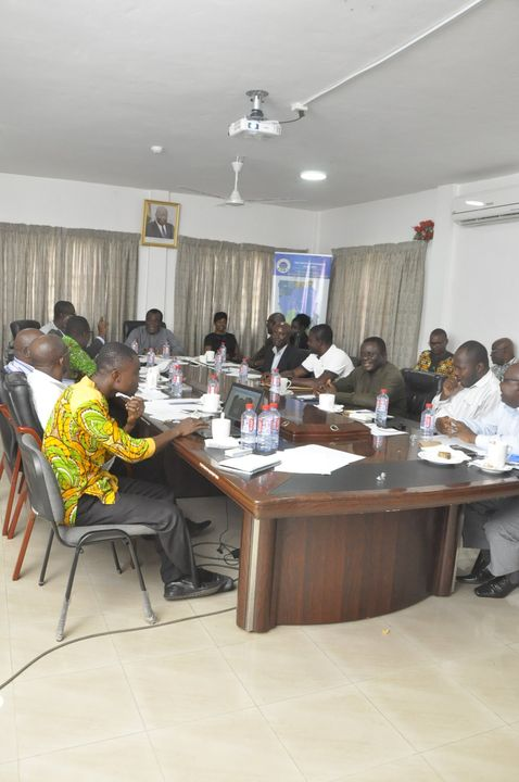 MEETING WITH IRDP SUB-PROJECT CONTRACTORS AT THE SIF HEAD OFFICE