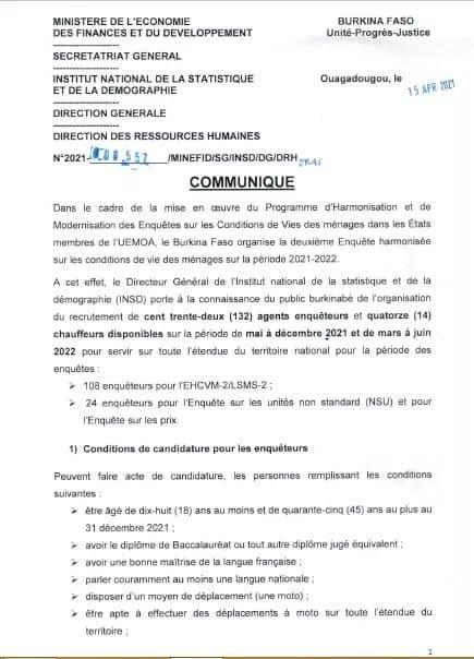 Photos from Univers des Métiers et de l'Emploi- Burkina Faso's post